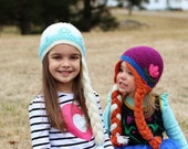 Elsa and Anna Hat Set - Made to Order - Inspired by Frozen