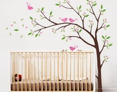 Birds and Tree Wall Decal