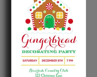Gingerbread Party Etsy