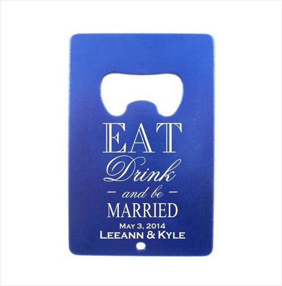 Wedding Gift Credit Card : Credit Card Bottle Openerengraved bottle opener wedding ...