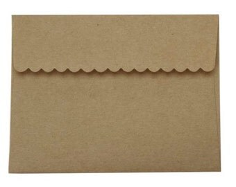 A2 Envelope, Kraft Envelope, Set of 20