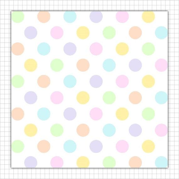 Pastel Purple Pink Green Blue Timber Wood Look: Pastel Digital Paper Pack, Triangles, Stripes, Polka Dots