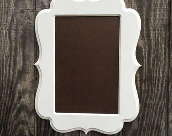 Picture Frame,12x18,Wooden frame, wood frame,frame set,white frame, distressed frame, photography prop, picture frame set,poster frame