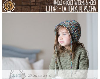 INSTANT DOWNLOAD - Crochet Pattern for Isabella Bonnet