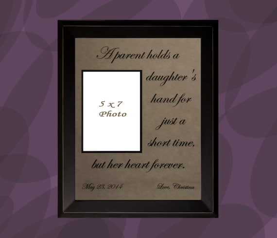 Parents, Personalized Picture Frame, Wedding Gift for Parents, Parents ...