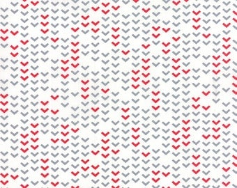 Airmail On Track in Cloud White, Eric and Julie Comstock, Moda Fabrics, 100% Cotton Fabric, 37105 11