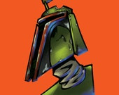 Boba Fett Print 12x12