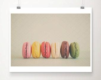 macaron photograph macaron print french decor food photography kitchen wall art still life photograph france photograph sweet print