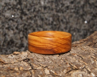 Wooden Ring Size 13 - Olive Wood Ring