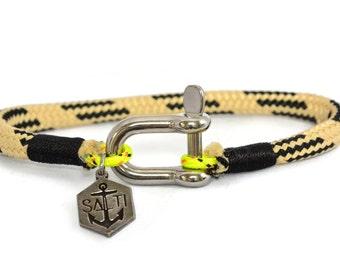 SALTI Nautical Bracelet 'WARPSPEED' Shackle FREE Worldwide Shipping