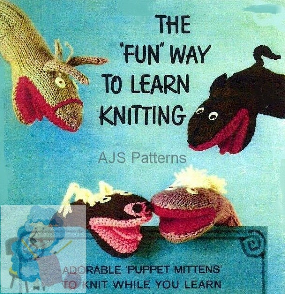 PDF Knitting Pattern Learn To Knit Tips and 8 Designs Of