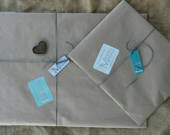 Add Rustic Gift Wrapping