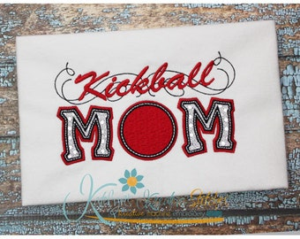 Kickball Mom Applique with a Twist