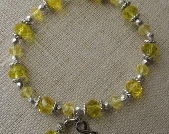 005 Bone/Sarcoma Cancer Awareness Bracelet