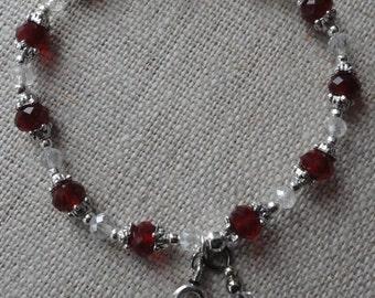 093 Head and Neck Cancer Awareness Bracelet