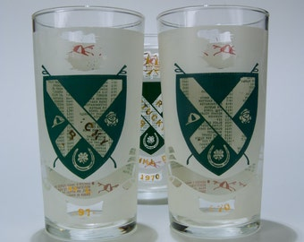 1970 Vintage Kentucky Derby Mint Julep Glass