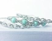 Sterling Silver Bride & Bridesmaids' Bracelet Set