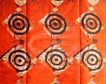 African Print Batik Fabric (sold per 6 yards)