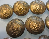 Vintage WWII Canadian Military Buttons