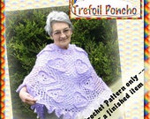 PDF Poncho Pattern Irish Crochet Style