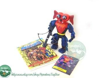 MOTU Action Figure: Mantenna Complete 1980s Toy