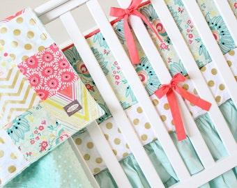 Custom Crib Bedding By Giggle Six Baby By Gigglesixbaby On