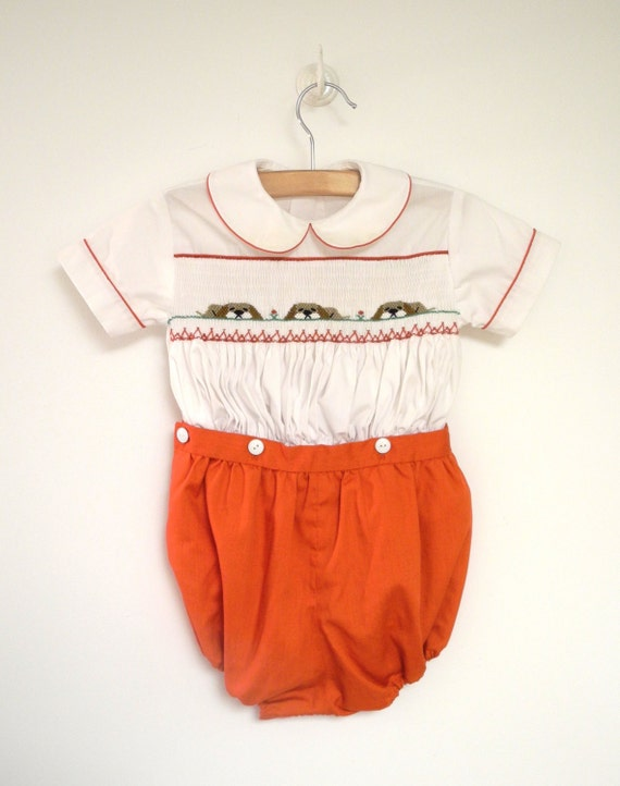 vintage baby clothes 1970 s bright and white baby boy