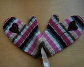 Children's Felt Mittens