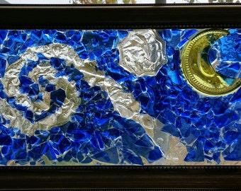 Night Sky Bottle Mosaic