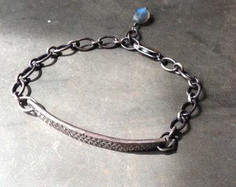 Sterling Silver Bracelet w/Labradorite