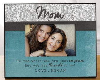 Personalized Mom Printed Picture Frame -gfy493970