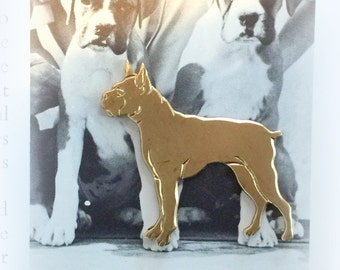 Handsome Boxer Dog (2 pc)