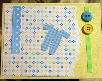 Welcome Baby Boy Card  20150060