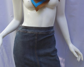 FERRE Vintage Denim Skirt Sz. 26/40