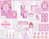 PARIS POODLE PRINTABLE Party Collection - Invitation, Favor Tags, Toppers, Drink Wraps, etc! by Bella Bella Studios