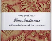 Rue Indienne Charm Pack by French General from Moda - 42 Five Inch Squares