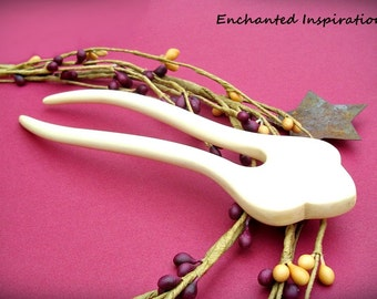 Holly Wood Handmade Hair Fork
