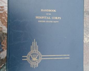 Handbook Of The Hospital Corps United States Navy Binder