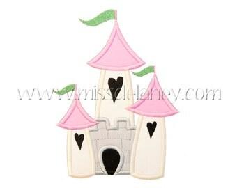 Castle Applique Design