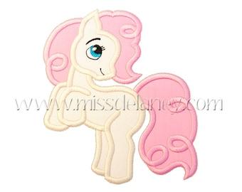 Pony Applique Design