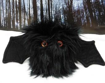 Shadow The Scrappy Bat Stuffed Animal, Plush