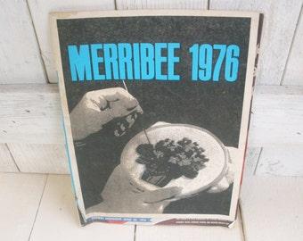 Vintage needlecraft stitchery catalog craft book Merribee 1976