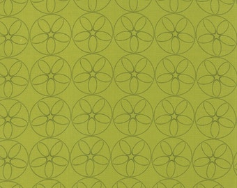 Reel Time film Reels chartreuse fabric by Zen Chic for Moda fabric 1566 18