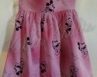 Mickey Mouse inspired summer dress