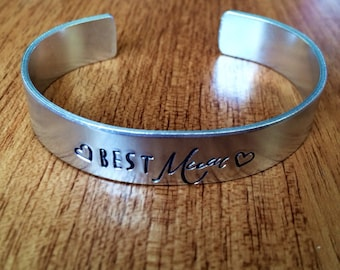 Best Mum... cuff bracelet...