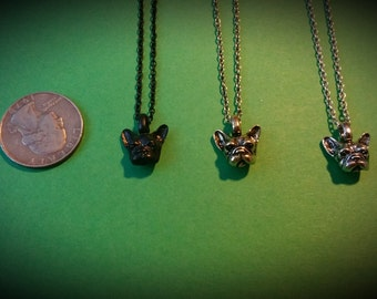 French Bulldog Necklace pick a color