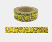 Japanese Washi Masking Tape - Smiley - 11 Yards