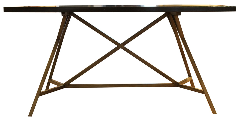 Eiffel industrial reclaimed doug fir desk/table by MortiseandTenon