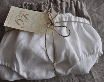 Set of Two Pure Linen Panties/Knickers/ Linen underwear/ Linen Lingerie/ Ecofriendly Panties