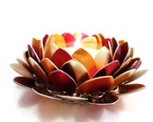 Fall Candle Holder Chainmaille Lotus Candle Skirt